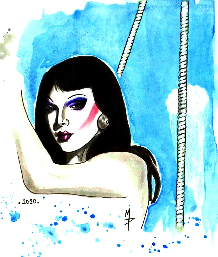 Violet Chachki par Martine76